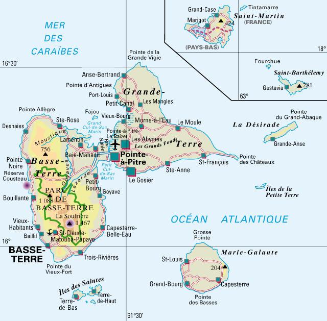 les bordels en tunisie Guadeloupe