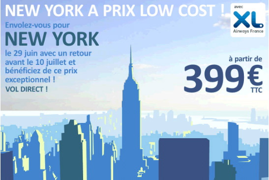 Vol pas cher new york abcvoyage avion h tel s jour for New york hotel pas cher