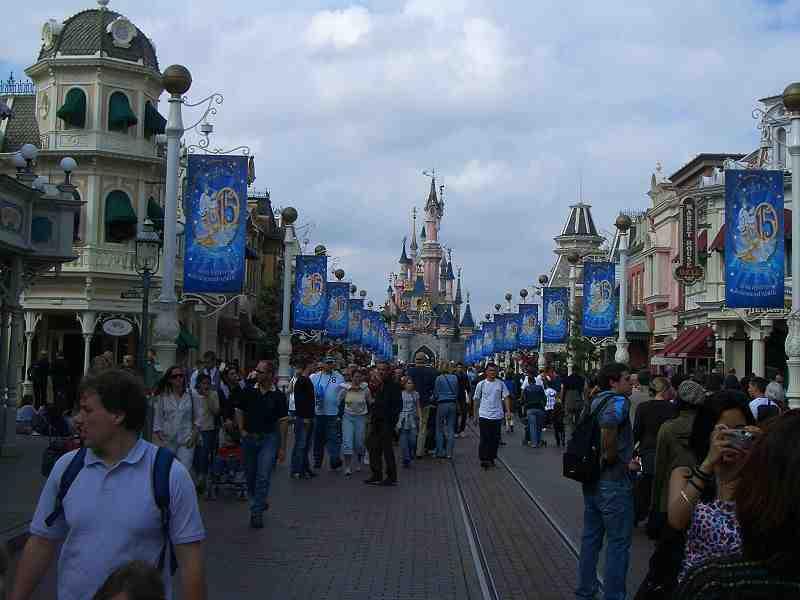 Disneyland Paris - rserver sur m