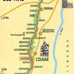 Hôtels pas chers sur la route des vins d'Alsace ?