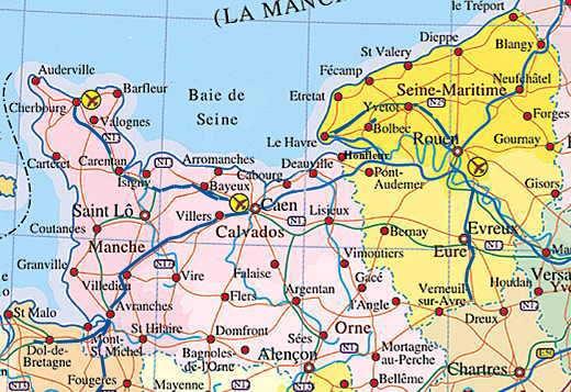 Villes Historiques De Normandie