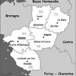 Quels sont les 5 départements des Pays de la Loire ?