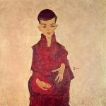 Egon Schiele-Der Rainerbub_belvedere