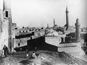 Alep_citadelle_mosquee_1900