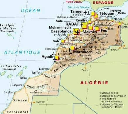 Que voir voyage au maroc abcvoyage avion h tel for Piscine demontable maroc