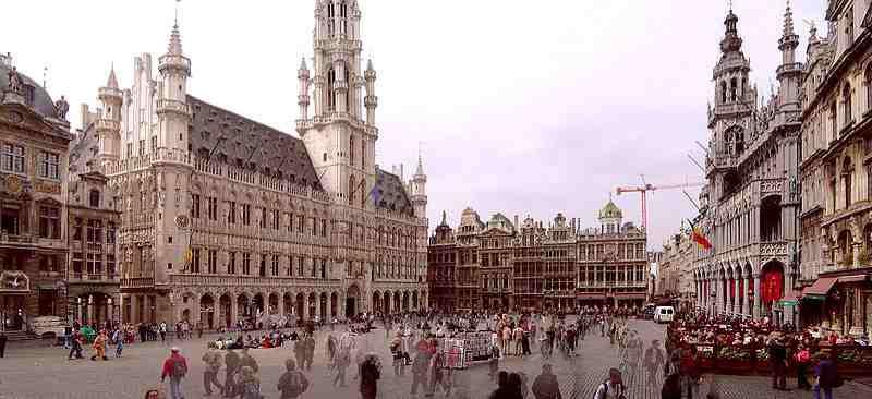 C ur historique et touristique de bruxelles abcvoyage - Office de tourisme bruxelles grand place ...