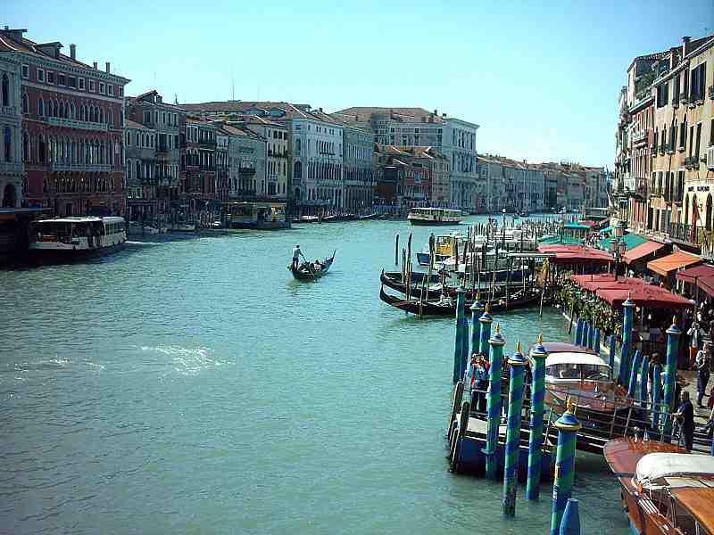 Longueur Du Grand Canal De Venise Abcvoyage Avion