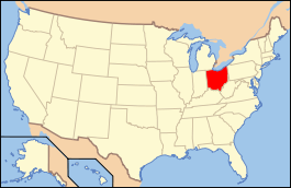 carte Ohio_USA