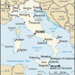 Principales villes d'Italie ?