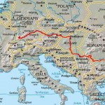 Les pays traversés par le Danube ?