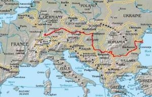 Danube-carte
