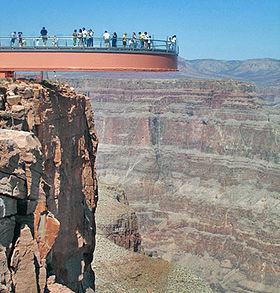 passerelle de verre grand canyon