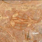 aborigene peinture rupestre