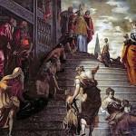 présentation de la vierge au temple_tintoretto