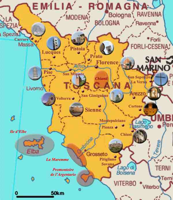Assez Les incontournables de la Toscane ? | AbcVoyage - Avion hôtel  HD05