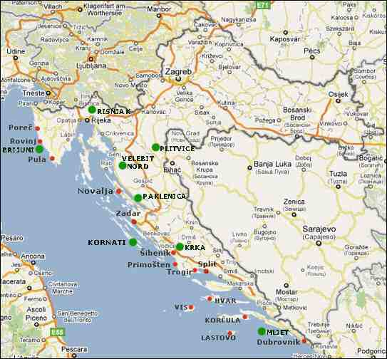 Carte Croatie Dubrovnik.Les Incontournables En Croatie Abcvoyage Avion Hotel
