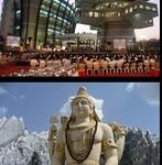 bangalore_statue_shiva_et_architecture_moderne