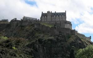 Edimbourg-chateau