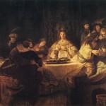 Le Mariage de Samson - Rembrandt
