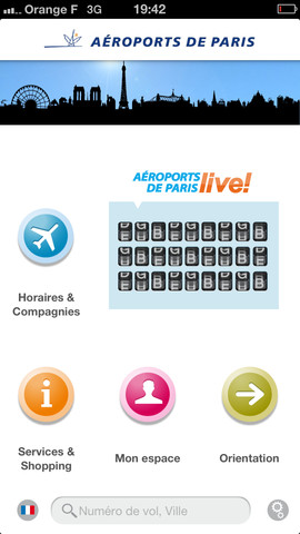 Une appli pour connaitre les horaires d 39 avions for Comparateur de prix hotel paris