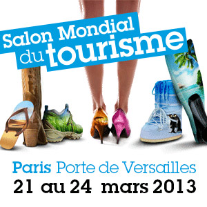 A ne pas manquer au salon mondial du tourisme 2013 for Salon e marketing porte de versaille