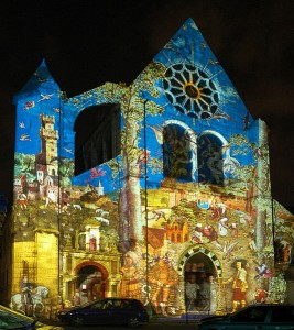 Chartres_en_lumieres_Eglise_Saint_Aignan