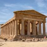 Le temple de la Concorde à Agrigente ?