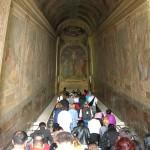 La Scala Santa à Rome, lieu de pèlerinage ?
