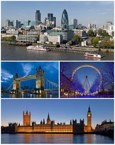 Londres_tower _bridge_London_eye_westminster_The_thames