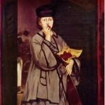 La Chanteuse de rue, de Édouard Manet