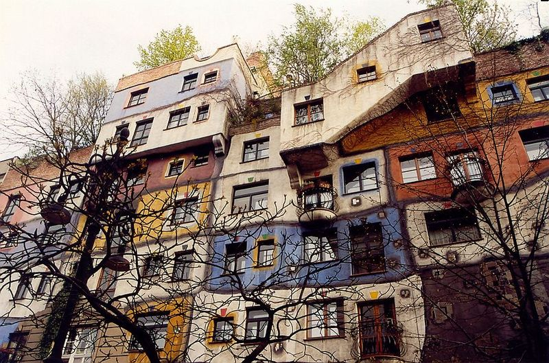 la hundertwasserhaus vienne abcvoyage avion h tel s jour pas cher. Black Bedroom Furniture Sets. Home Design Ideas