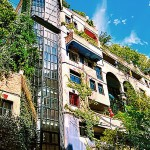 La Hundertwasserhaus à Vienne ?