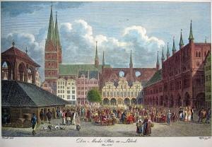 Lübeck_capitale_Hanse_carte_postale