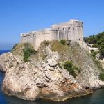 Fort_Lovrijenac,Dubrovnik,Croatie_game_of_throne