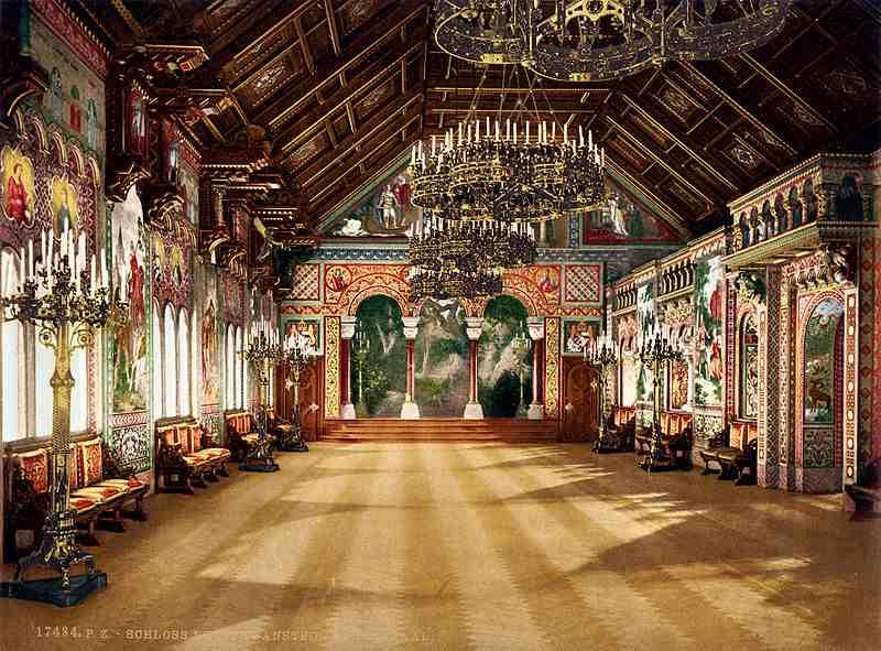 neuschwanstein_salle_des_chanteursjpg - Chateau De Pierrefonds Mariage