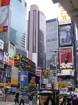 La place la plus c l bre de new york abcvoyage avion for Ny hotel pas cher