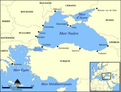 Pays Entourant La Mer Noire Abcvoyage Avion H 244 Tel
