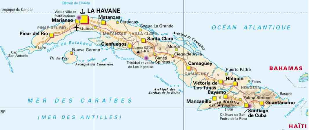 Guide voyage cuba abcvoyage avion h tel s jour pas cher - Office du tourisme de cuba ...