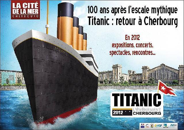 le titanic cherbourg abcvoyage avion h tel s jour pas cher. Black Bedroom Furniture Sets. Home Design Ideas