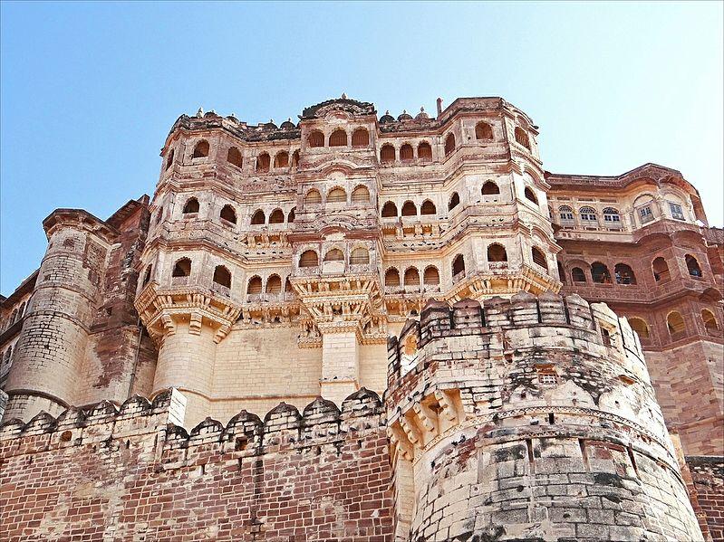 Le Fort De Mehrangarh Au Rajasthan Vu Dans 171 The Dark